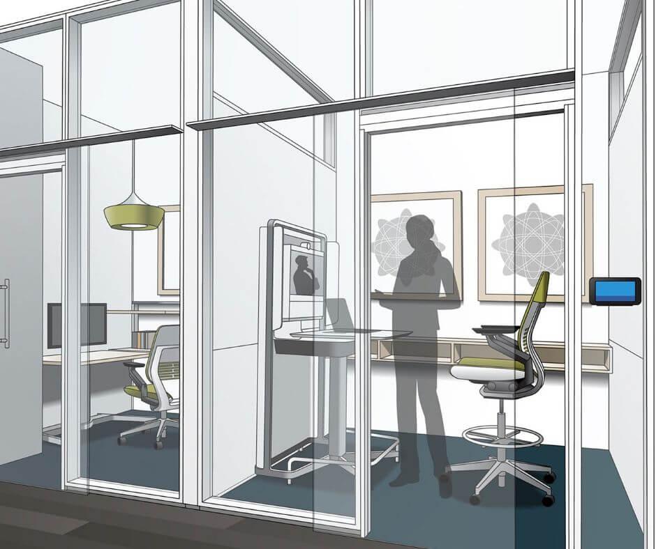 Büro Virtual Reality