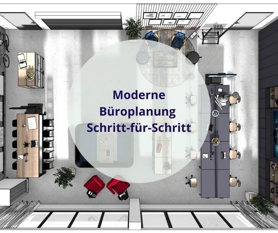 Moderne Büroplanung