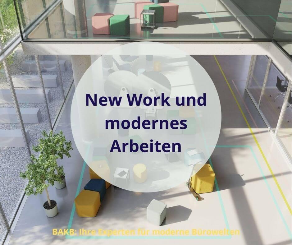 New Work und modernes Arbeiten im Büro
