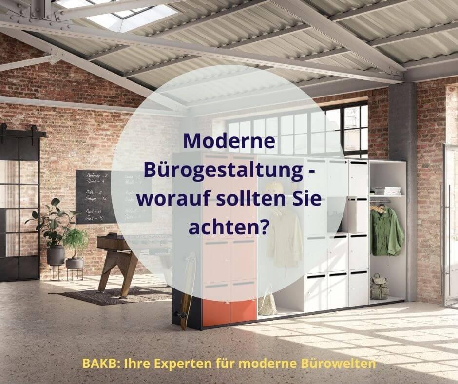 Moderne Bürogestaltung