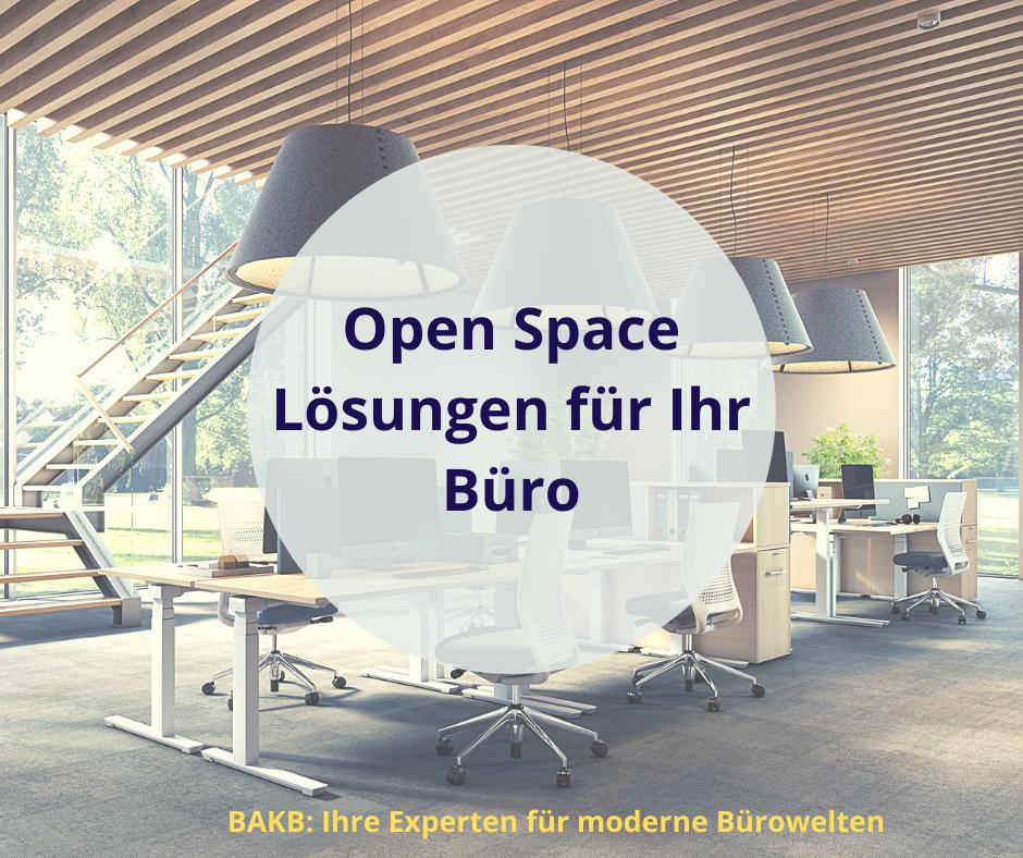 Open Space Lösung für Ihr Büro